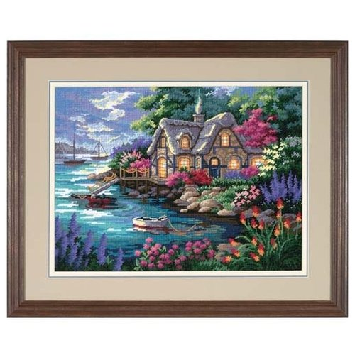 Dimensions Набор для вышивания Гобелен Cottage Cove 41 х 30 см (12155)