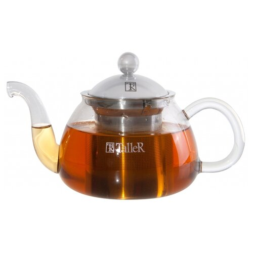 Taller Заварочный чайник Хансен TR-1346 700 мл прозрачный