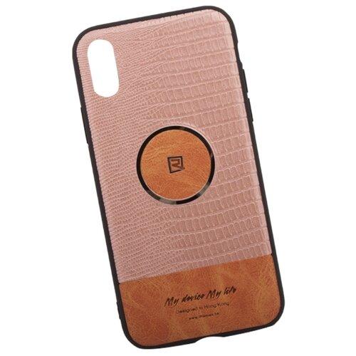 Купить Чехол Remax Magnetic Series Case для Apple iPhone Х золотой