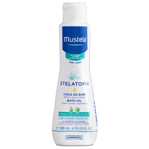 Mustela Масло для ванны Stelatopia 200 млСредства для купания<br>