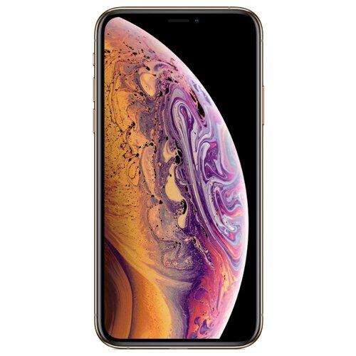 Смартфон Apple iPhone Xs 256GB золотой (MT9K2RU/A)