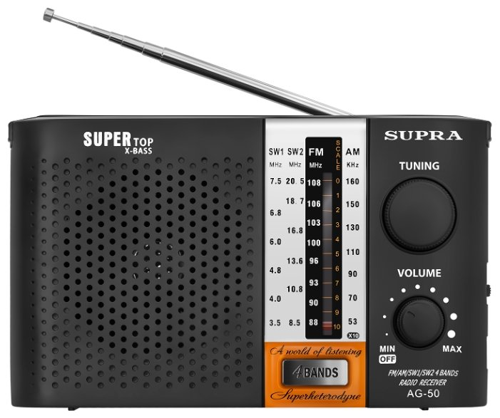 Радиоприемник SUPRA ST-19