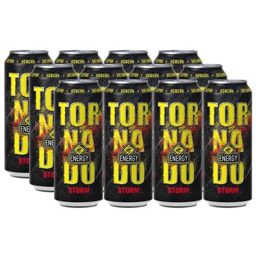 Энергетический напиток Tornado Energy Storm, 0.45 л, 12 шт.