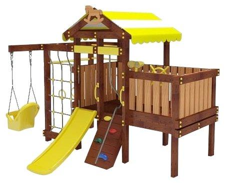 Спортивно-игровой комплекс Мир детских площадок Савушка Baby Play 3