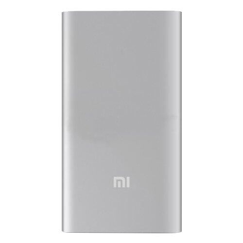 Аккумулятор Xiaomi Mi Power Bank 5000, серебристый аккумулятор