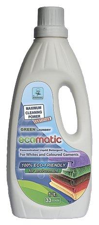 Гель для стирки ECOMATIC Green Laundry для цветного и белого белья