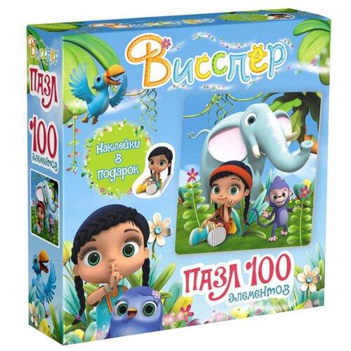 Купить Пазл Origami Висспер Висспер и слонёнок (03589), 100 дет., Пазлы
