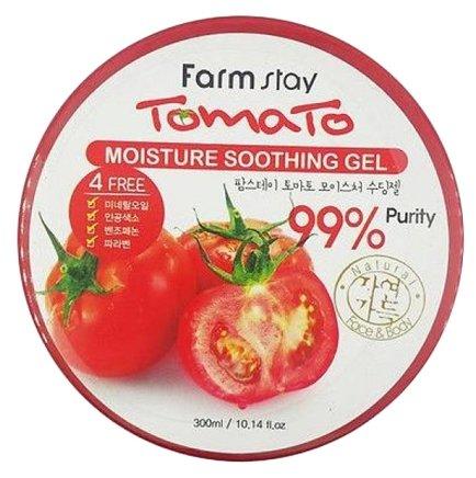 Гель для тела Farmstay многофункциональный с томатом Moisture Soothing Gel Tomato