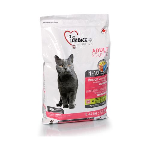 Сухой корм для кошек 1st Choice Vitality, с курицей 5.44 кг