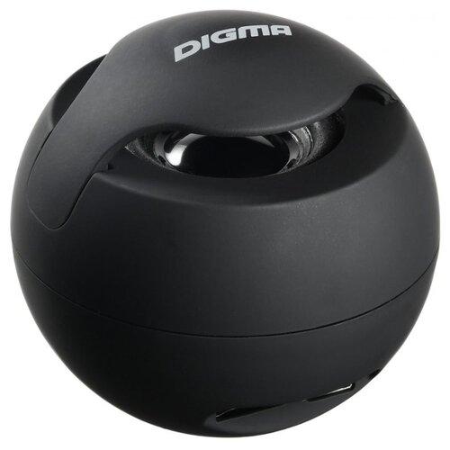 Портативная акустика Digma S-11 черный