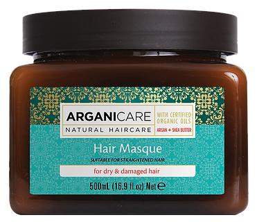 ARGANICARE Argan Oil & Shea Butter Маска для волос с маслом дерева Ши для сухих и поврежденных волос