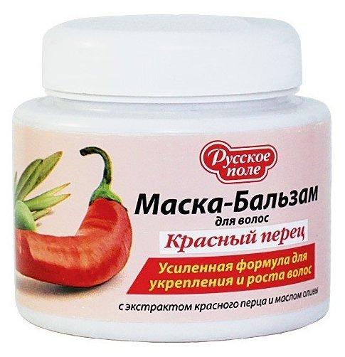Русское Поле Маска-бальзам для волос «Красный перец»