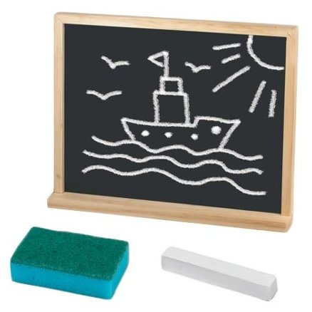 Доска для рисования детская Пифагор с мелком и губкой (235498)