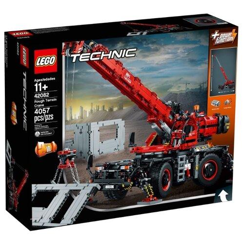 Купить Электромеханический конструктор LEGO Technic 42082 Подъёмный кран для пересечённой местности, Конструкторы
