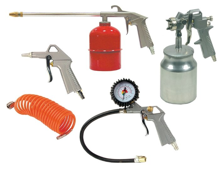Набор пневмоинструментов ABAC 8973005189