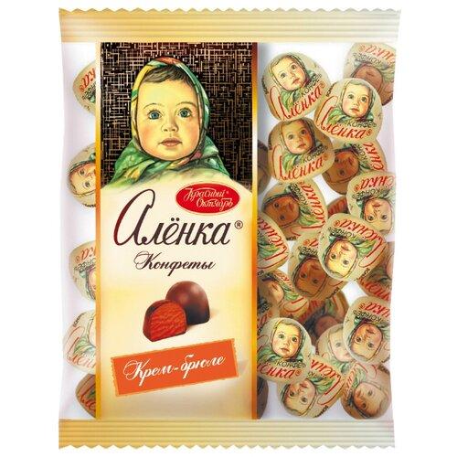 Конфеты Алёнка крем-брюле купол, пакет 250 г
