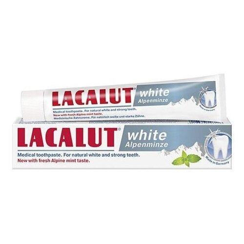 Зубная паста Lacalut White Alpenminze, мята, 75 мл lacalut white