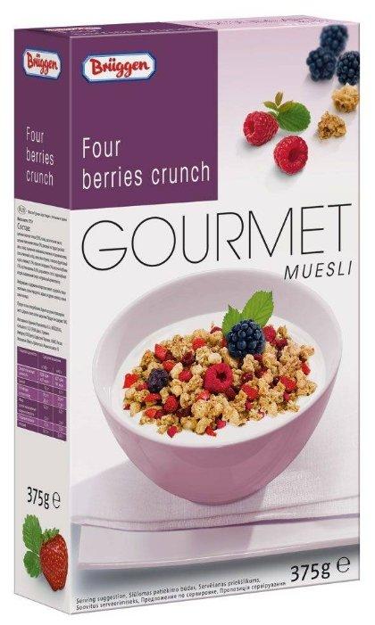 Мюсли Gourmet Bruggen с лесными ягодами 375 г