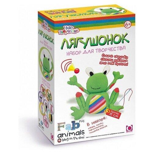 Купить Origami Набор Чудо-творчество Сшей игрушку Лягушонок (00782), Изготовление кукол и игрушек