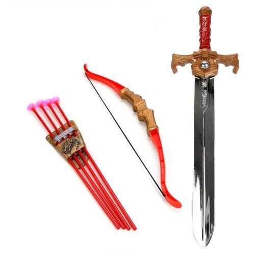 Купить Набор Играем вместе Три богатыря (B1512998-R), Игрушечное оружие и бластеры