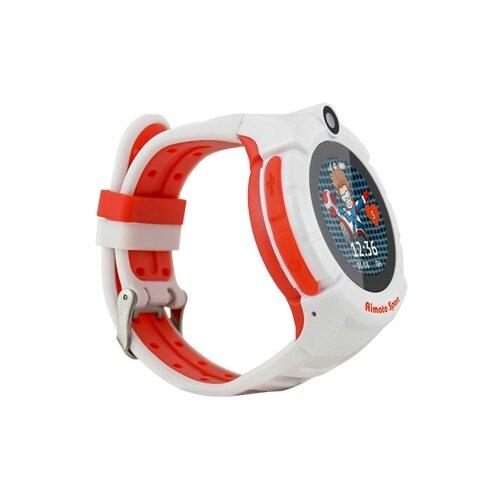 Часы Кнопка жизни Sport красно-белыйУмные часы и браслеты<br>