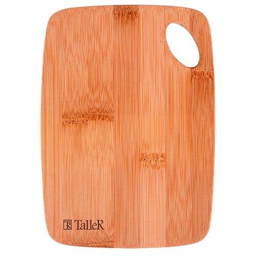 Разделочная доска Taller TR-2214 20,5×14,7×0,9 см светло-коричневый