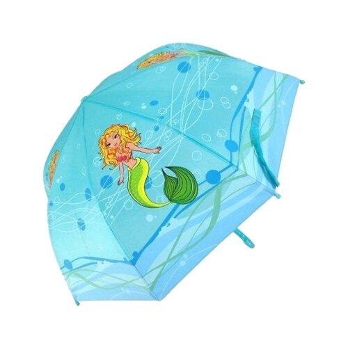 Зонт Mary Poppins голубой
