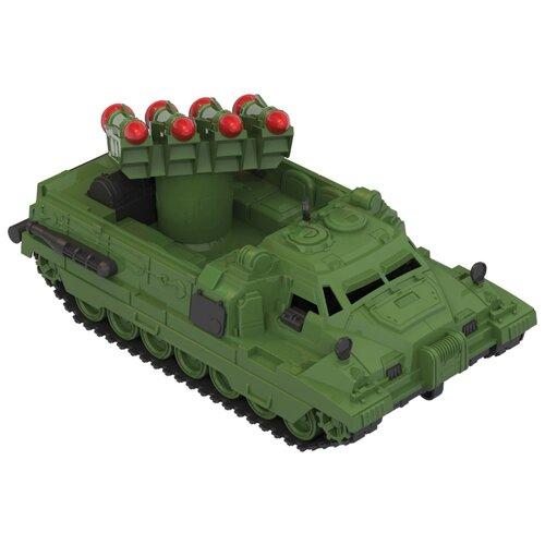 Купить Ракетная установка Нордпласт Страж (216) 31 см зеленый, Машинки и техника