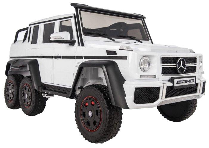 Детский электромобиль Rivertoys Мercedes-Benz G63-AMG 4WD-X555XX-WHITE