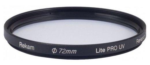 Светофильтр ультрафиолетовый Rekam Lite Pro UV 72 мм