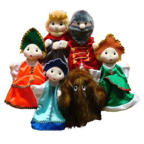 Тайга Набор перчаточных кукол Аленький цветочек (4029)