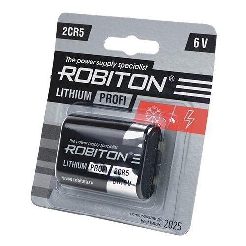 Батарейка ROBITON Lithium Profi 2CR5, 1 шт. недорого