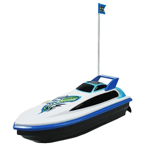 Купить Катер Yako M6527 21 см белый/синий/черный, Радиоуправляемые игрушки