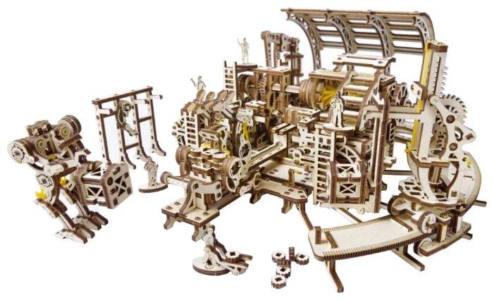 Сборная модель UGEARS Фабрика роботов,