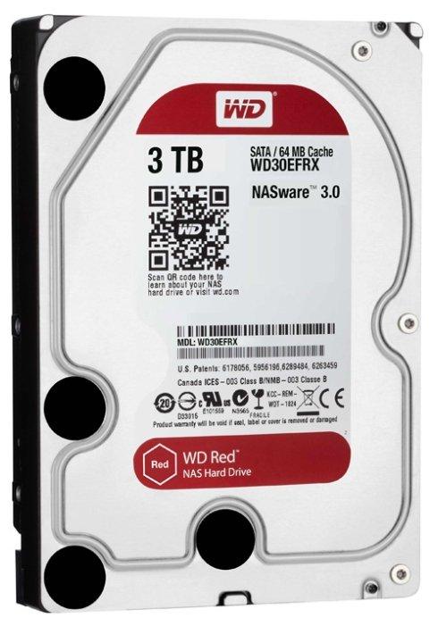 Жесткий диск Western Digital Caviar 3Tb Red WD30EFRX