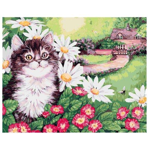 Купить Белоснежка Картина по номерам Пушистик 30х40 см (308-AS), Картины по номерам и контурам