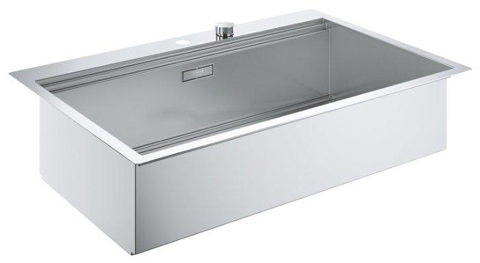 Врезная кухонная мойка Grohe K800 31584SD0 84.6х56см нержавеющая сталь