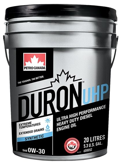 Моторное масло Petro-Canada Duron UHP 0W-30 20 л