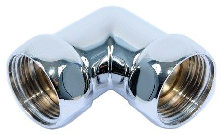 Соединитель для полотенцесушителя 2 шт. Tera угловой гайка-гайка 1