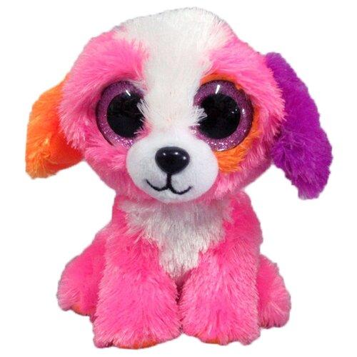 Мягкая игрушка Yangzhou Kingstone Toys Собачка розовая 15 см