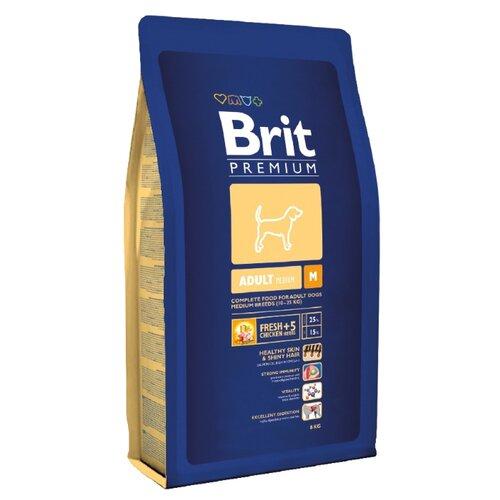 Сухой корм для собак Brit Premium курица 8 кг (для средних пород)
