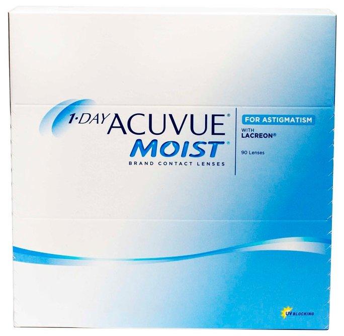 Acuvue 1-Day Moist for Astigmatism (90 линз)