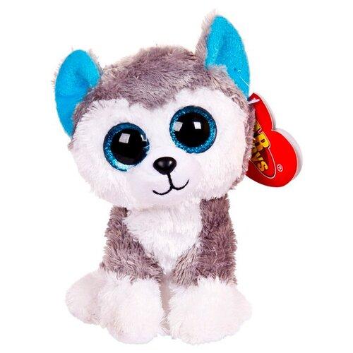 Купить Мягкая игрушка ABtoys Собачка хаски 15 см, Мягкие игрушки