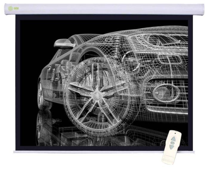 Экран для проектора Cactus CS-PSM-150x150 1:1 настенно-потолочный (моторизованный привод)