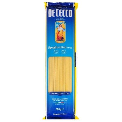 De Cecco Макароны Spaghettini n° 11, 500 г