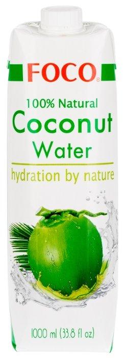 Вода кокосовая FOCO Original, без сахара, 0.33 л