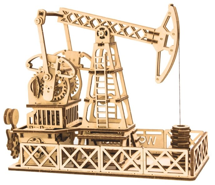 Сборная модель Wood Trick Нефтевышка (1234-13),,