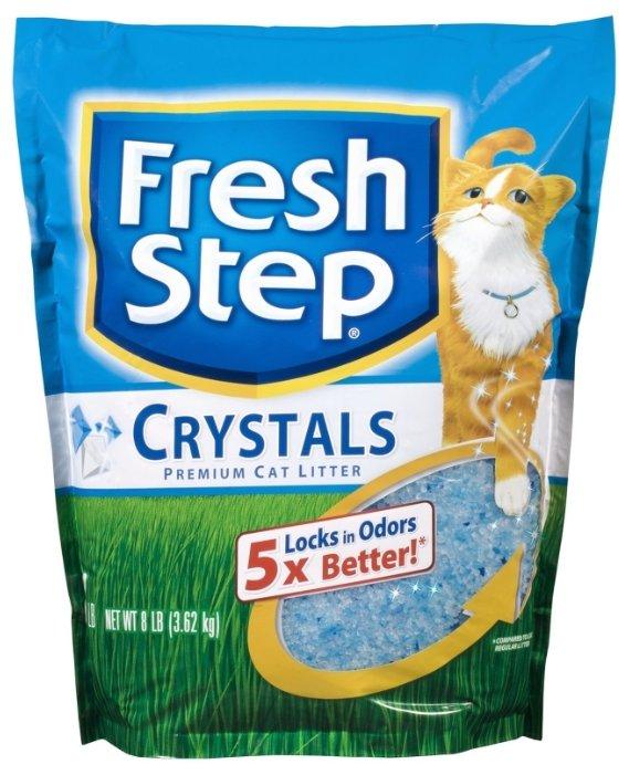 Наполнитель Fresh Step Crystals (3.62 кг)