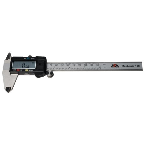 Цифровой штангенциркуль ADA instruments Mechanic 150 150 мм, 0.01 мм цифровой штангенциркуль norgau ip67 200мм 0 01мм 040051020