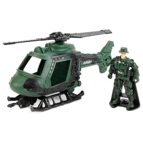 Вертолет Играем вместе 7033-R зеленый
